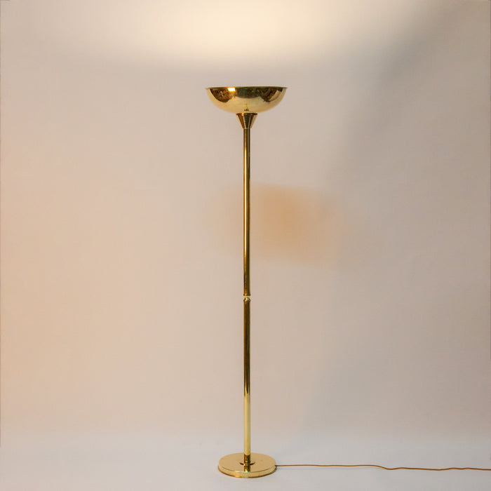 Brass Up Lighter Floor Lamp