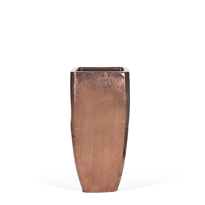 Sleek Square planter - Gold