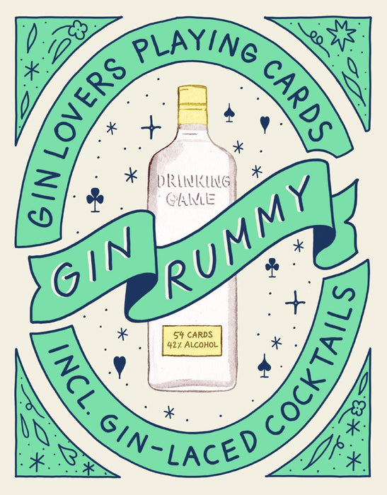 Gin Rummy: Gin Lovers Playing Cards - Game
