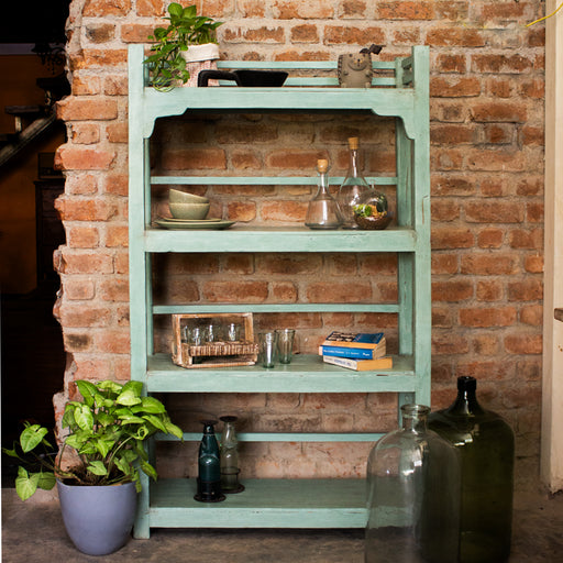 Distressed Shelf (green)