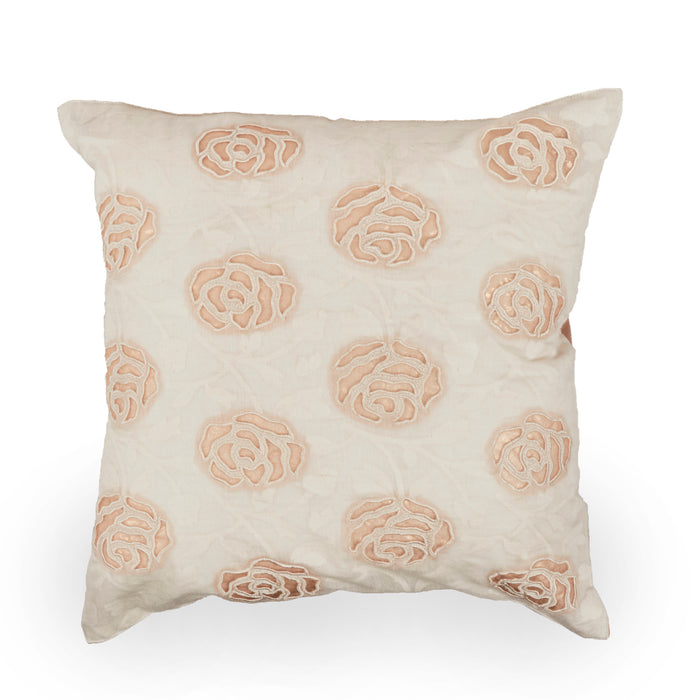 Lotus Cotton Cushion Cover