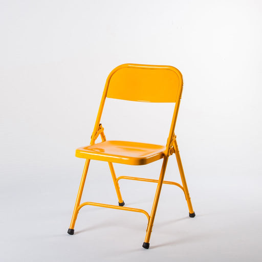 Mod Metal Chair - Yellow