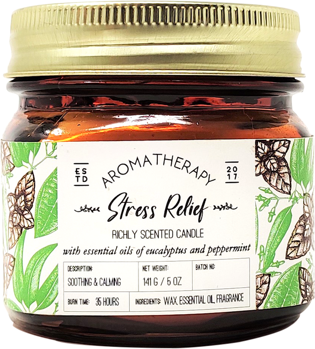 Aromatherapy-Stress Relief Candle