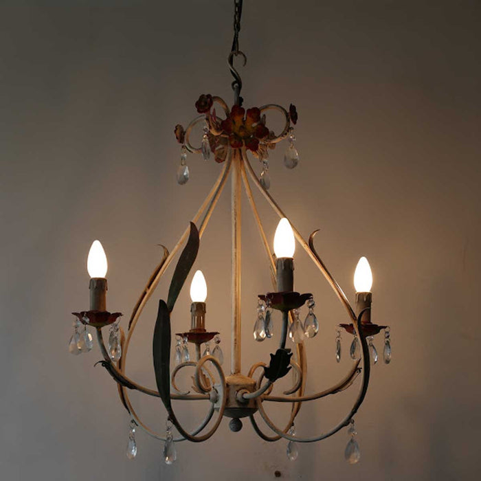 Spade Chandelier (4 arms)