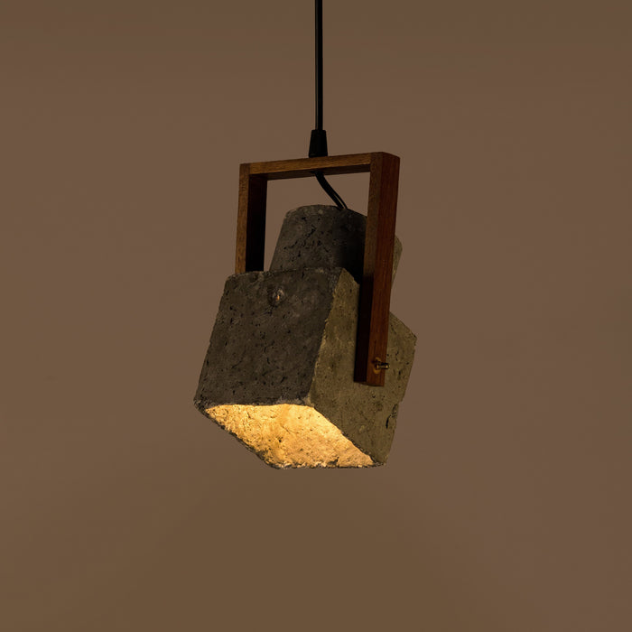 Cubiform Block Spot Pendant Lamp