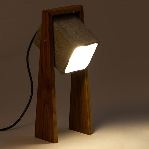 Woodlot Cubiture Table Lamp