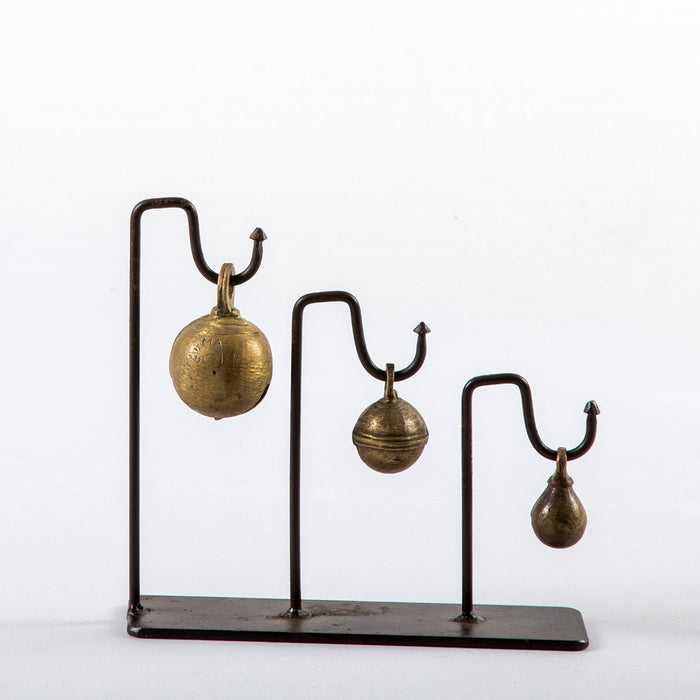 Bella Iron Stand with Brass Bells