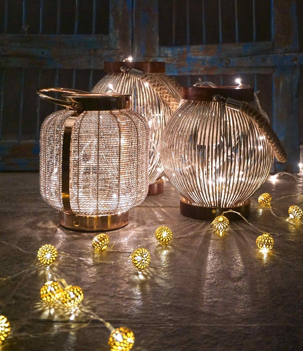 Globule Rice Lights (Gold)