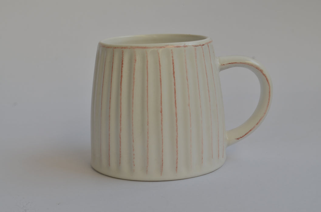 Fluted Coffee Mug (Set of 2)