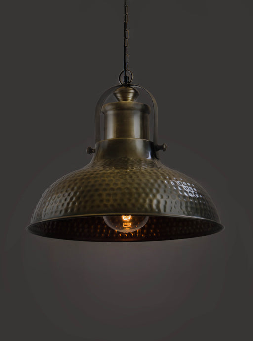 Polka Dot Dome Pendant Lamp