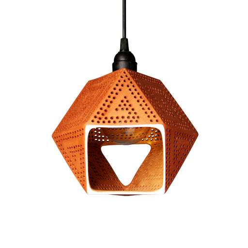 Diamond Terracotta Pendant Lamp