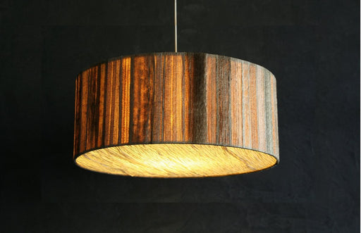 Bark Drum Pendant Lamp