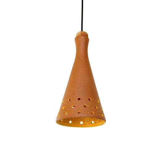Funnel Terracotta Pendant Lamp