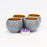 Dome Terracotta Tea Light Holder (Grey) (Set of 4)