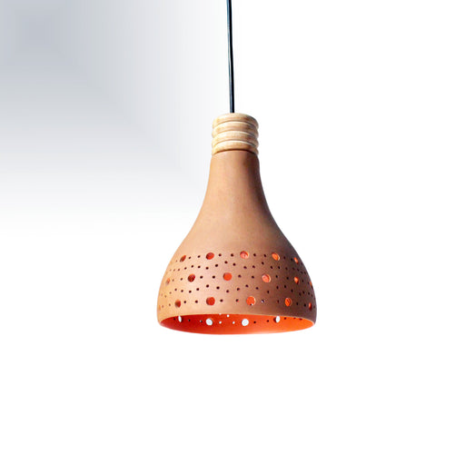 Dome Terracotta Pendant Lamp