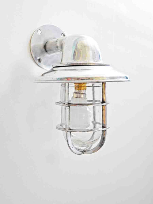 Aluminium Bend Light With Hat Wall Lamp