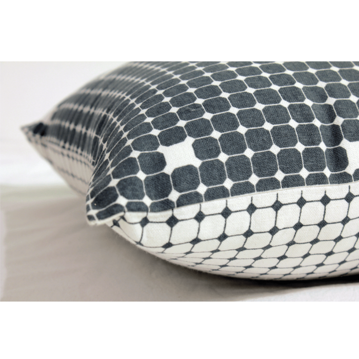Two Way Grid Cushion Cover
