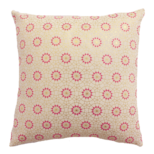 Aza Pink Cushion Cover