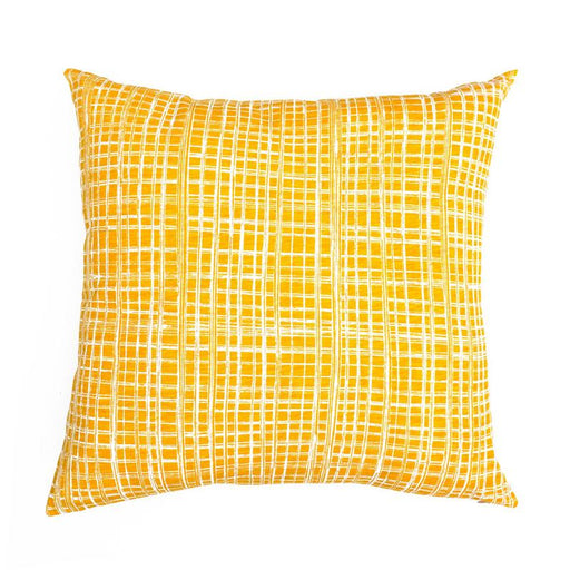 Mango Check Cushion Cover