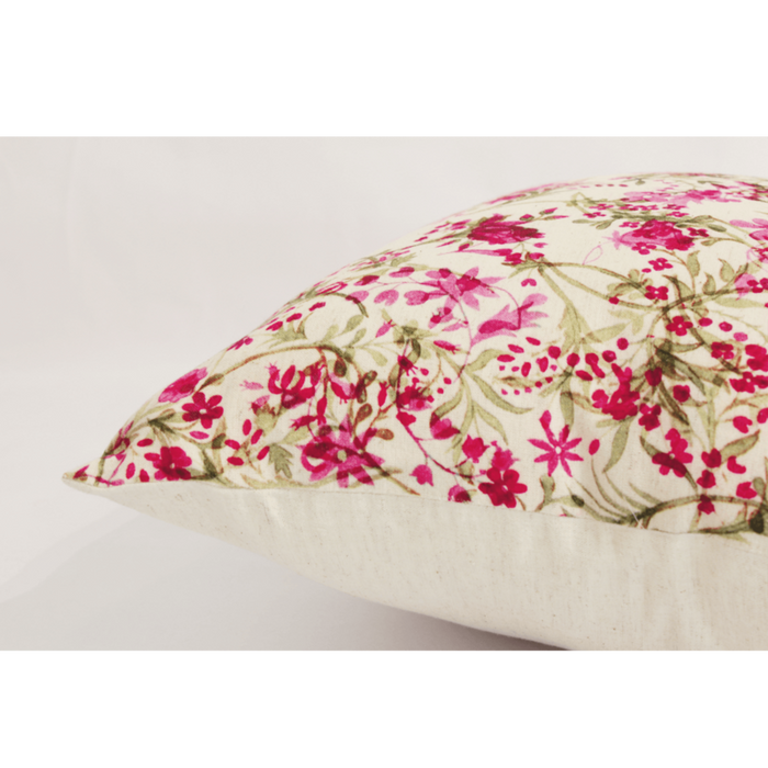 Twisted Floral Garden Cushion Cover