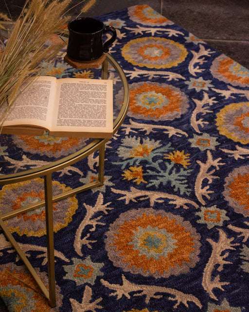 Suzani Hand Tufted Carpet
