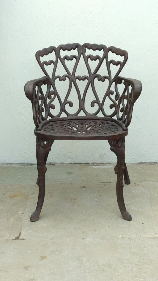 Cast Iron Chair Black