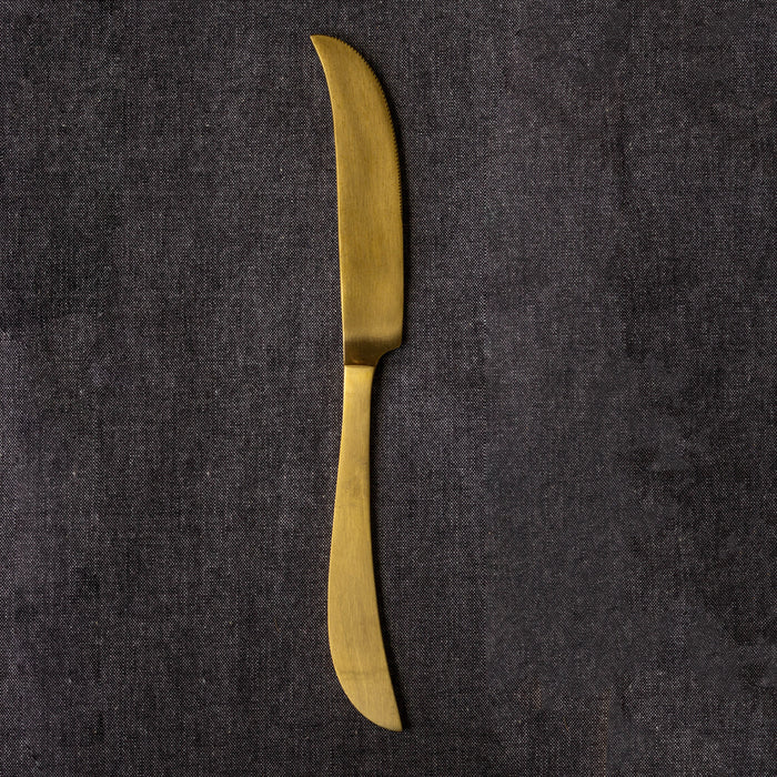 Curved Dinner Knife
