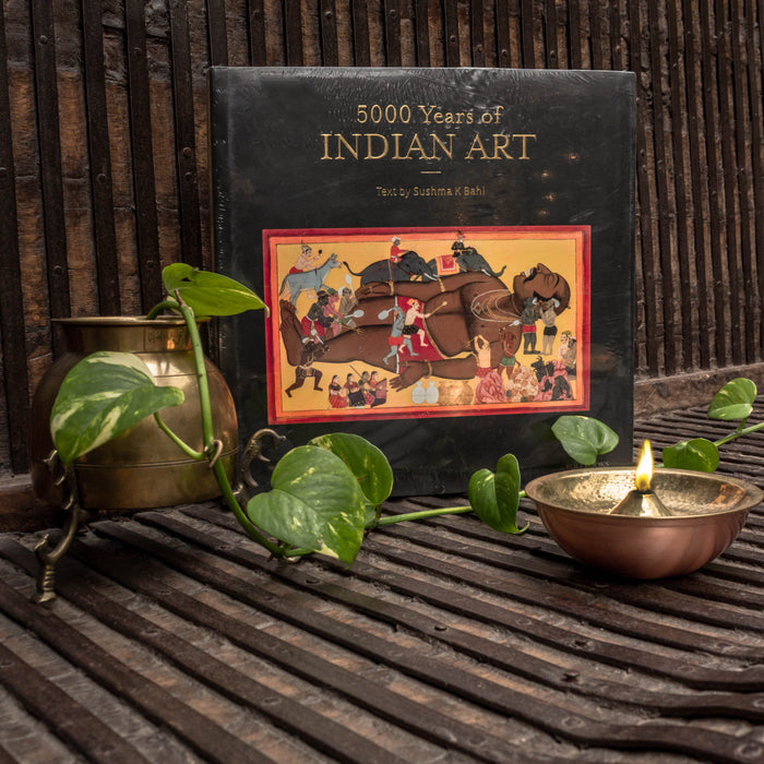 5000 Years Of Indian Art - Book