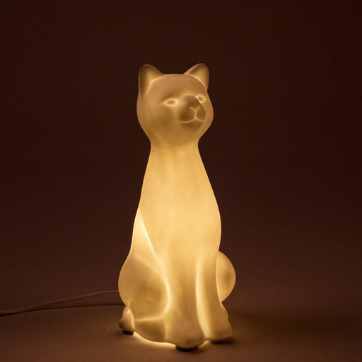 Feline Ceramic Table Lamp
