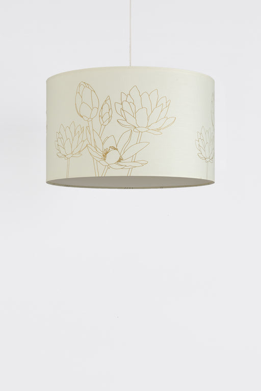 Lotus Drum Pendant Lamp