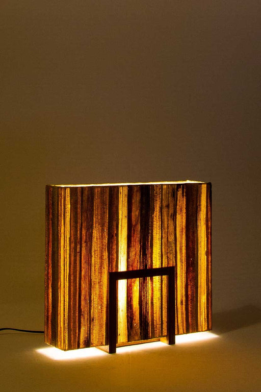 Un-Block Bark Table Lamp