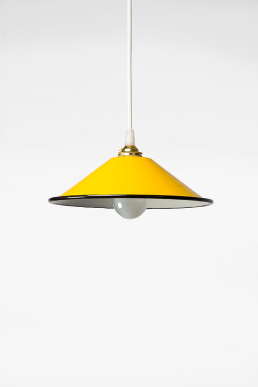 Enamel Shades Pendant Light