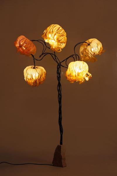 Free Fall Coco Flower Floor Lamp