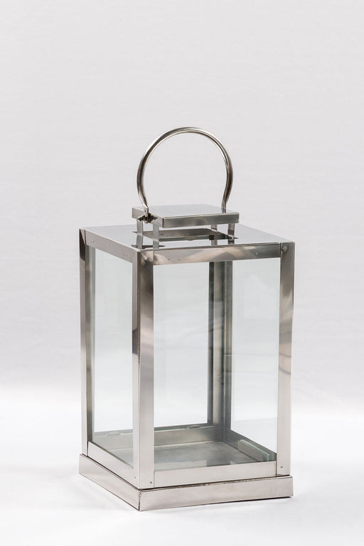 Glass Rectangle Lantern