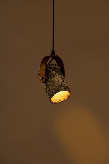 Block Spot Cask Pendant Light
