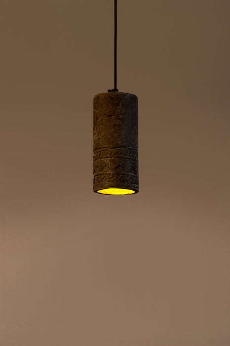 Icicle Aztec Print Pendant Light