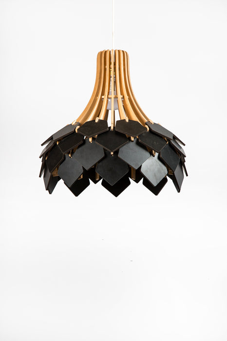 Autumn Petals Pendant Lamp (Black)