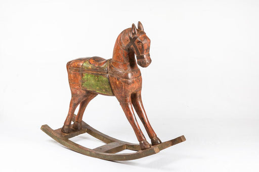 Distress Wooden Rocking Horse