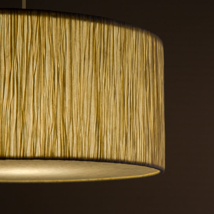 Lokta Drum Pendant Lamp