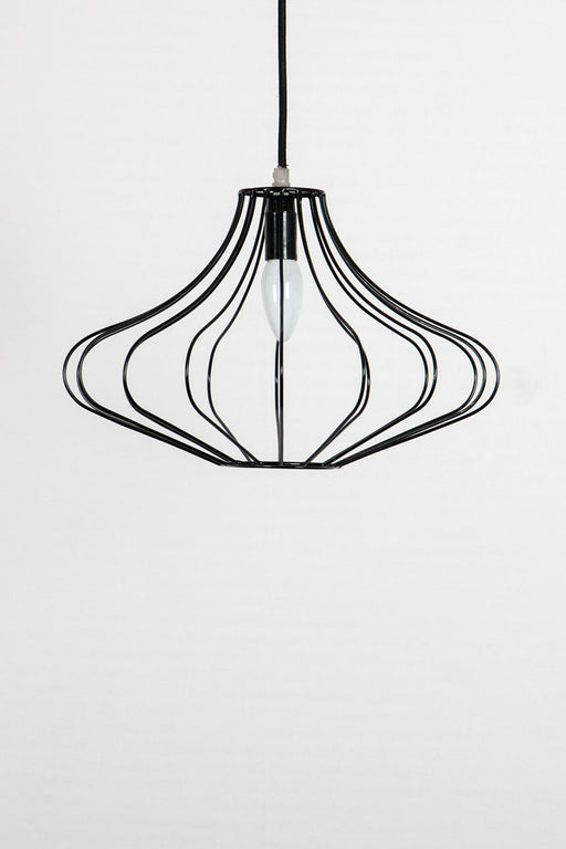 Izmir Wire Pendant Lamp (Black)