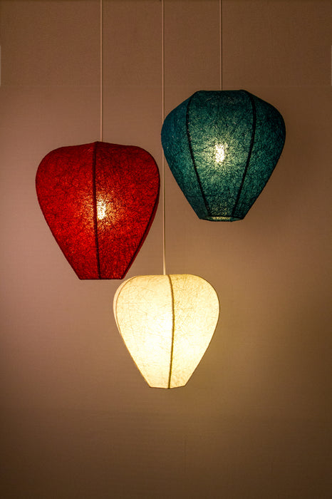 Lotus Pendant Lamp (Red)