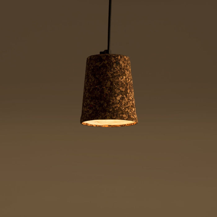 Giri Cork Pendant Lamp(Dark Mixed Cork)