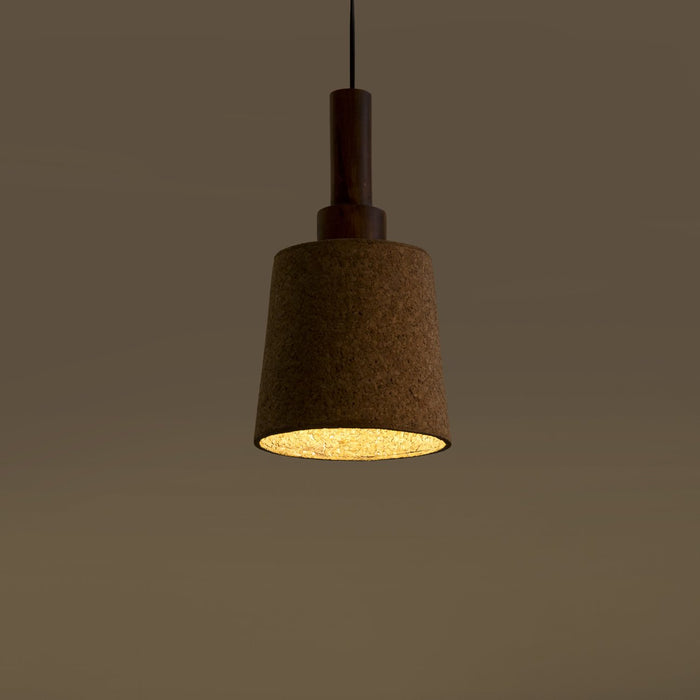 Carmel Stepped Light Pendant Lamp (Dark Canopy)
