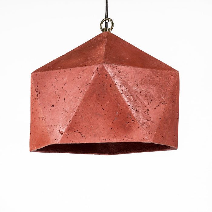 Facet Pendant Lamp (Merlot)