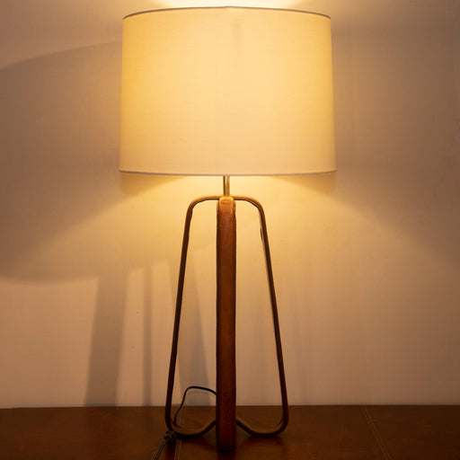 Saddle Strap Table Lamp