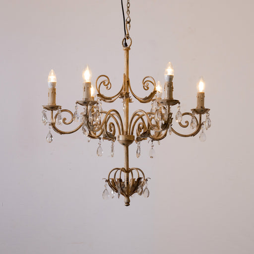 Antique Beige Chandelier