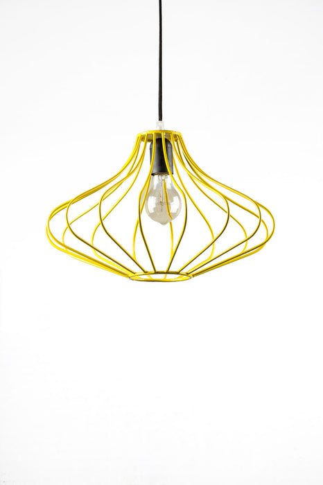Izmir Wire Pendant Lamp (Yellow)