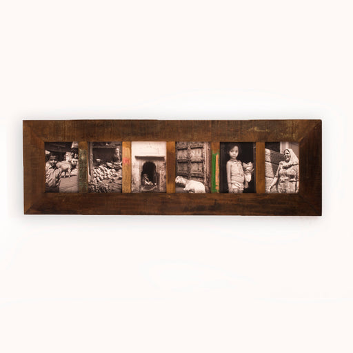 Long Distress Photo Frame