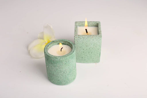 Joy Candle (Set of 2 - Green)