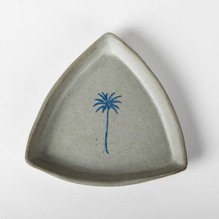Palm Tree Triangular Plate